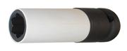 Immagine di BUSSOLA CON RIVESTIMENTO IN PLASTICA PER NUOVI BULLONI RUOTE MERCEDES, LUNGHEZZA 78 MM